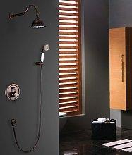 Set doccia con doccetta in porcellana in stile