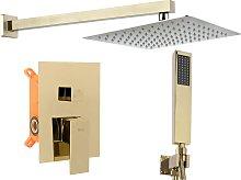 Set doccia da incasso FENIX L.GOLD BOX