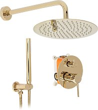 Set doccia da incasso Rea Lungo L. Gold + BOX
