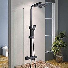 Set doccia nero Rubinetto doccia di lusso Vasca a