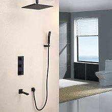 Set doccia termostatico in ottone massiccio con