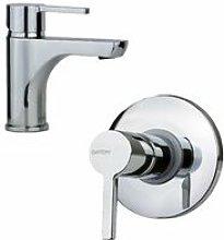 Set miscelatore per lavabo e doccia Gattoni Eden