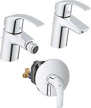 Set Miscelatori Grohe Eurosmart lavabo bidet e