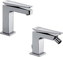 Set miscelatori lavabo + bidet Jacuzzi  