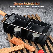 Set per raclette al formaggio Padella per fondere