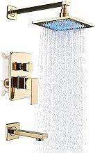 Set rubinetto doccia con beccuccio vasca, soffione