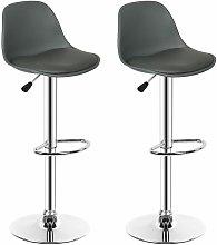 ®Sgabello alto x 2/seggiolone con schienale/sedia