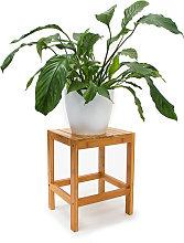 Sgabello da Bagno in Bambù, Design Naturale,