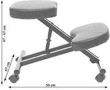 Sgabello ergonomico seduta regolabile