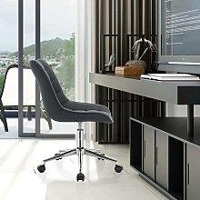 Sgabello modello di lino grigio scuro - Mercatoxl