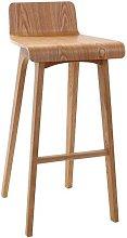 Sgabello / sedia da bar design legno naturale