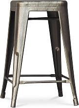 Sgabello Tolix 60cm Pauchard Style - Metallo