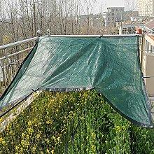 shade net Telo Ombreggiante,2 * 5 M di Rete Verde