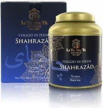 Shahrazad, tè Neri Profumati, Barattolo di Latta,