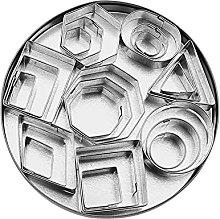 Shanshu Stampo da forno per biscotti a forma di