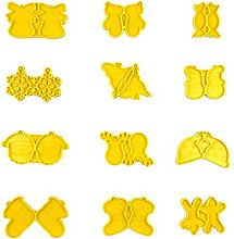 ShapeW 12 orecchini di Natale in resina epossidica