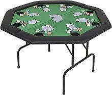 SHUJUNKAIN Tavolo da Poker Piegabile in 2 per 8