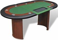 SHUJUNKAIN Tavolo Poker 10 Giocatori Postazione