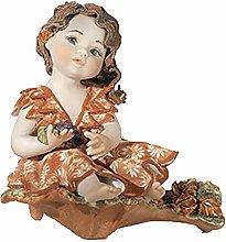 SIBANIA – Statuina in Porcellana Autunno –