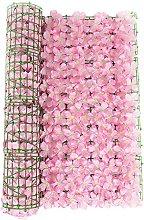 Siepe artificiale da giardino per recinzioni da