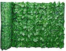 siepe artificiale, edera finta per recinzione,