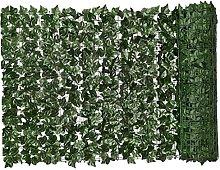 Siepe Artificiale Foglia Verde Foglia Finto Edera