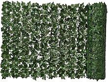 Siepe artificiale Green Leaf Faux Ivy recinto
