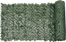 Siepe artificiale verde foglia edera recinzione