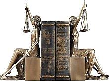 Signora scale di giustizia Statua della giustizia