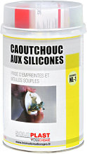 Silicone indurente gomma NL Soloplast 1kg - Blanc