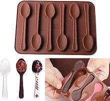 Silicone Stampo Di Cioccolato Cucchiaio Stampo Di