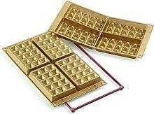silikomart 26.155.63.0063 Stampi, Silicone, Oro