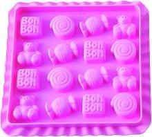 silikomart Stampo in Silicone 16 Easy Candy Bon Bon