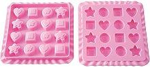 silikomart Wonder Cakes Stampo in Silicone, 16