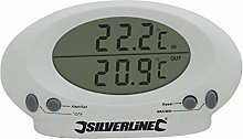 Silverline 675133 Termometro per Interno/Esterno,