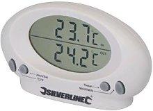 Silverline Termometro per interno/esterno -50 oC -