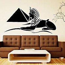 Simbolo egiziano Adesivo piramide murales arte