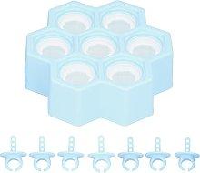 Simpatici stampi per ghiaccioli in silicone,