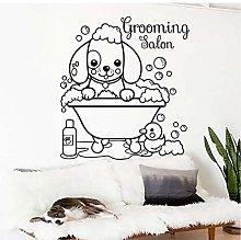 Simpatico Cane Pet Toelettatura Salone Adesivo