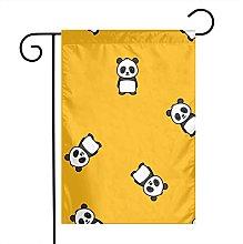 Simpatico panda giardino bandiere per casa per