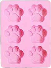 Simpatico stampo in silicone per zampa di cane
