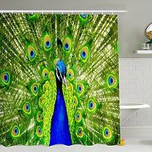 Simulazione 3D Animali colorati Tenda da doccia