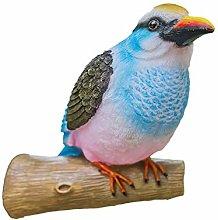 Simulazione Kingfisher Giardino Figurina Resina