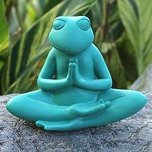 Simulazione yoga rana creativo resina decorazione