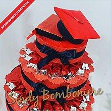Sindy Bomboniere Torta BOMBONIERA per Laurea Porta