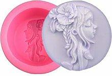 Sirena Fata Bambina Round 3D in Silicone