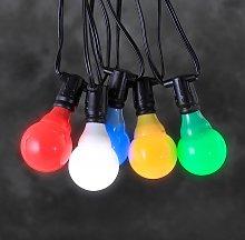 Sistema 24 V ghirlanda LED E10 multicolore