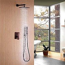 Sistema doccia anticata con doccia a pioggia a