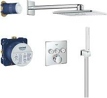 Sistema doccia Grohtherm SmartControl da incasso