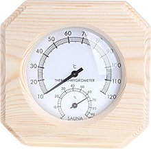 Siwetg - Termometro per sauna, igrometro,